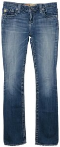Big Star Casey K Slim Low Rise Long Inseam Boot Cut Jeans
