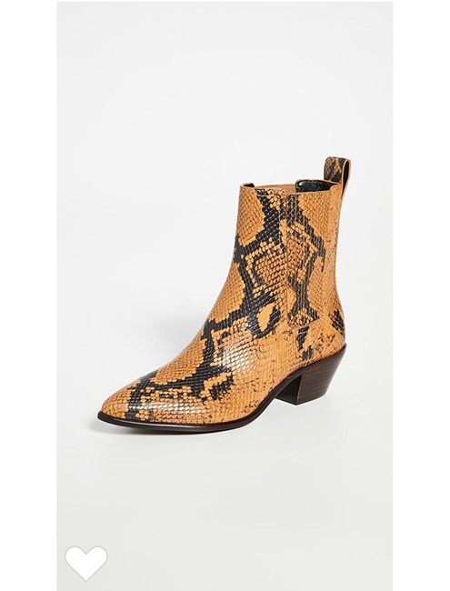 Item - Snakeskin Aylin Western Boots/Booties Size US 10 Regular (M, B)