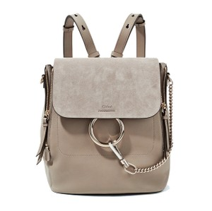 Chloé Leather Suede Backpack