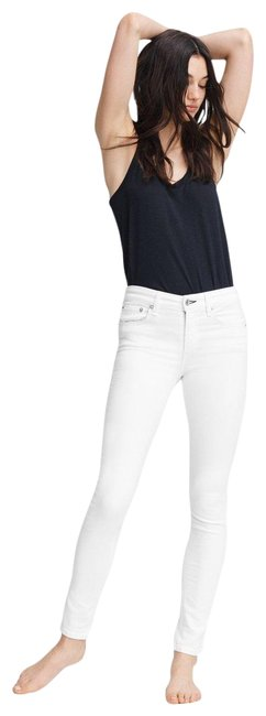 Item - White Medium Wash Cate Mid-rise Skinny Jeans Size 29 (6, M)