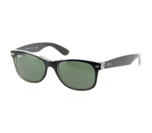 Ray-Ban RAY BAN New Wayfarer Green Classic G-15 Sunglasses RB2132 6052