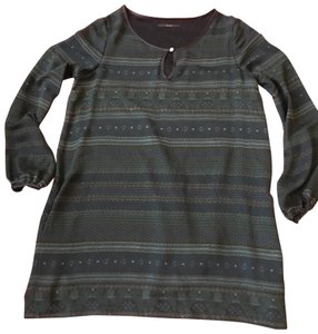 SEVENTY Top grey and green
