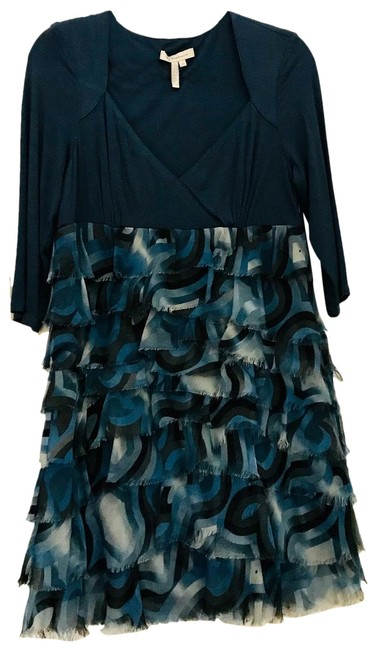 Item - Blue Short Cocktail Dress Size 12 (L)