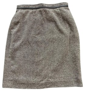 Petite Sophisticate Mini Skirt brown