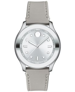 Movado Stainless Rubber Strap Womens 3600412