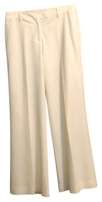 Item - White Lined Pants Size 12 (L, 32, 33)