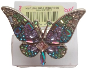 Betsey Johnson Betsey Johnson New Sparkly Butterfly Ring
