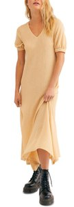 Warm Butter Maxi Dress by Free People