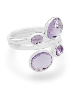 Ippolita NEW Rock Candy Ring in Sterling Silver and Amethyst