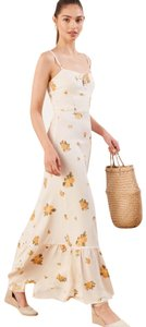 ivory Maxi Dress by Reformation