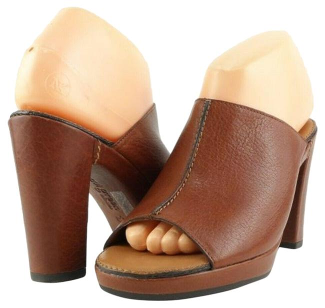 Item - Saddle Presley Leather Sandals Mules/Slides Size US 7.5 Regular (M, B)