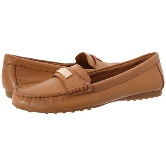 Item - Brown Fredrica Pebbled Leather Loafers Flats Size US 8.5 Regular (M, B)