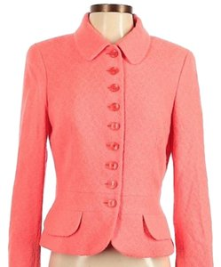 Escada Designer Rabbit Business Preppy pink Blazer