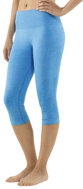 Item - Blue Ebb and Flow Crops Activewear Bottoms Size 6 (S, 28)