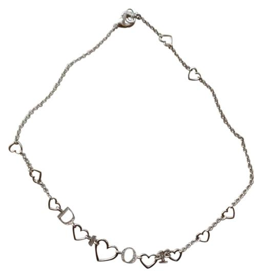 Preload https://item4.tradesy.com/images/dior-silver-heart-necklace-273233-0-0.jpg?width=440&height=440