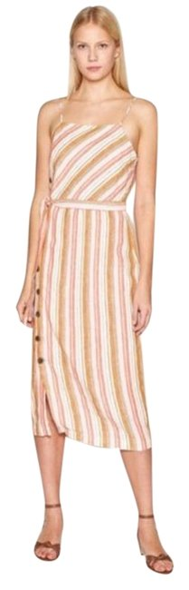 Item - White Khari Mid-length Casual Maxi Dress Size 8 (M)