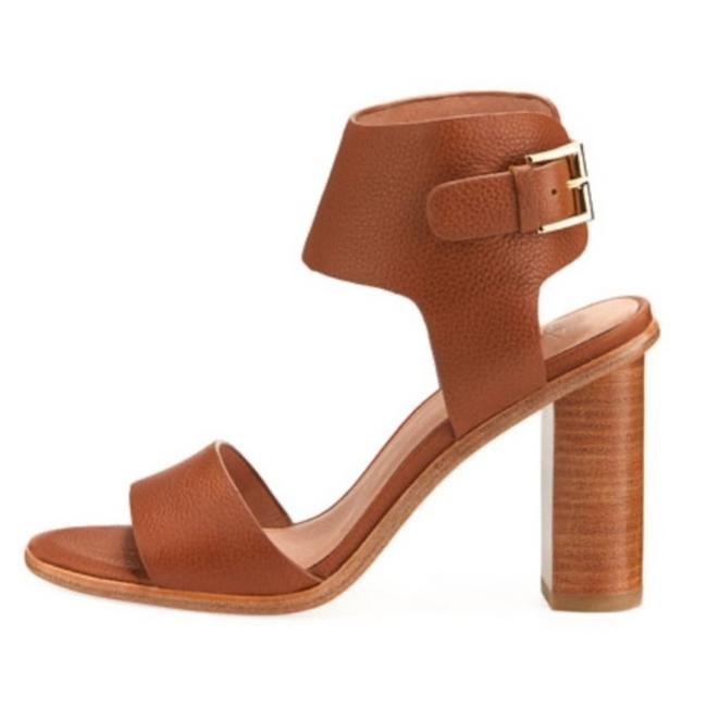Joie Brown Opal Pebbled Leather Heels Sandals Size EU 40 (Approx. US 10) Regular (M, B) Joie Brown Opal Pebbled Leather Heels Sandals Size EU 40 (Approx. US 10) Regular (M, B) Image 1