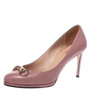 Gucci Leather Pink Pumps