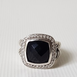 David Yurman David Yurman Albion 11mm Black Onyx Diamond Ring