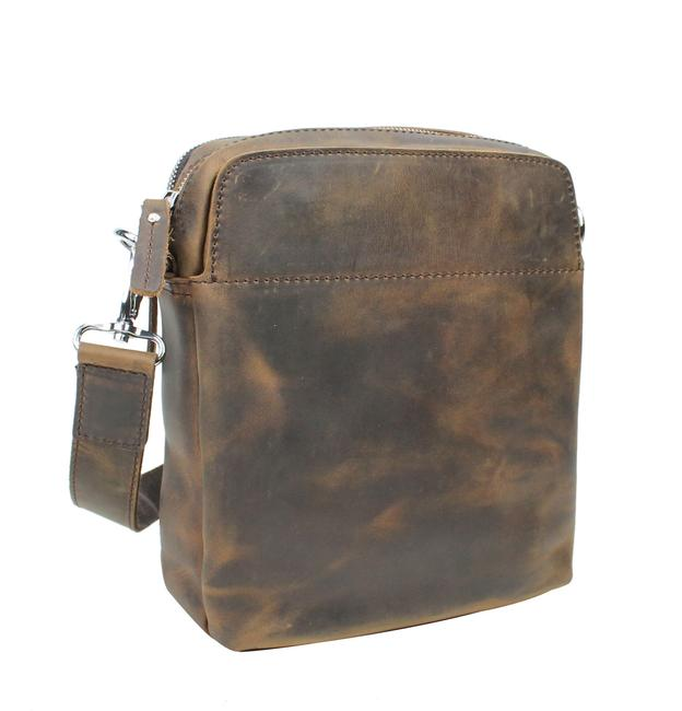 Vagarant Cowhide Shoulder Lm13 Vintage Distress Leather Messenger Bag Vagarant Cowhide Shoulder Lm13 Vintage Distress Leather Messenger Bag Image 1