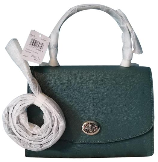 Preload https://img-static.tradesy.com/item/27324178/coach-tilly-top-handle-f76618-dark-turquoise-green-leather-cross-body-bag-0-1-540-540.jpg