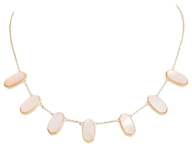 Item - Peach Meadow Slider Station Necklace