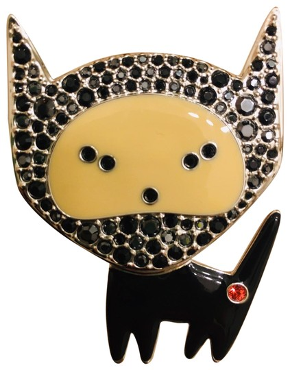 Preload https://img-static.tradesy.com/item/27324337/swarovski-tan-sliver-space-cat-tag-collectors-item-0-2-540-540.jpg