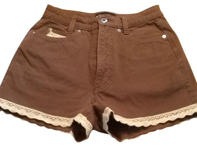 Cambio jeans Shorts Brown