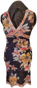 Sweet Pea by Stacy Frati short dress Multi Floral on Tradesy