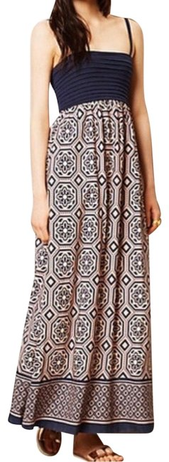 Preload https://img-static.tradesy.com/item/27324737/anthropologie-blue-pink-geometric-long-casual-maxi-dress-size-2-xs-0-1-650-650.jpg