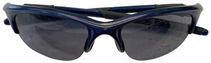 Oakley Oakley Sunglasses, Navy Blue Frame/ Dark Lens