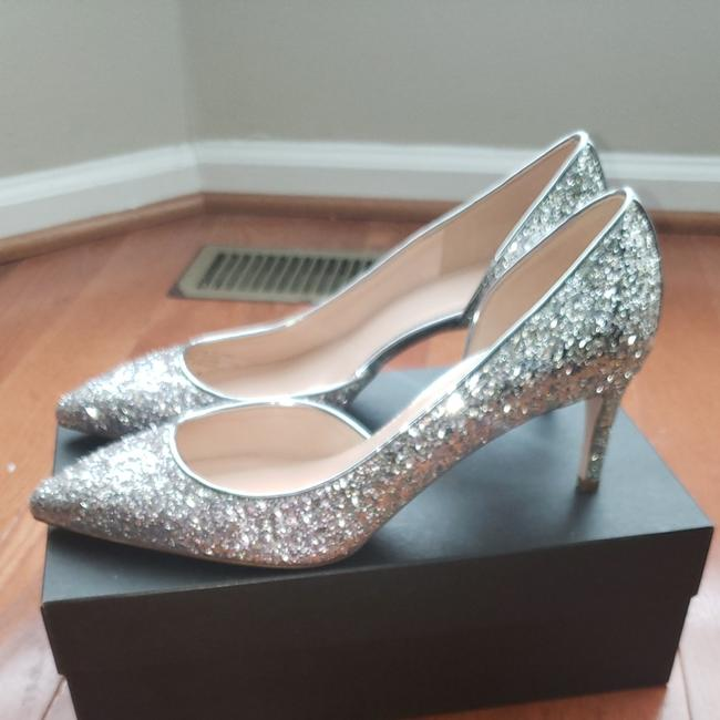 Item - Lilac Silver Ombre Collette D'orsay In Glitter Pumps Size US 11 Regular (M, B)