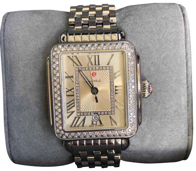 Item - Stainless Steel Deco Madison Mid Diamond Watch
