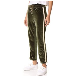 Mother Relaxed Pants green olive brown