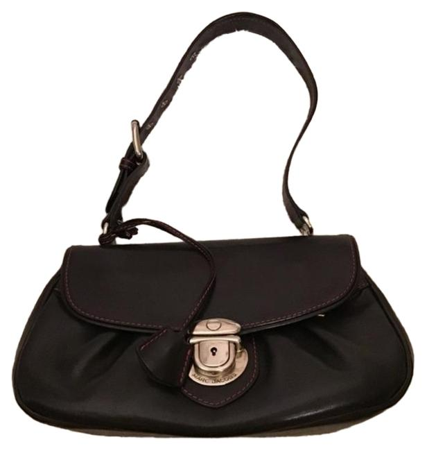 Item - With Lock and Key Silver Black Leather Hobo Bag