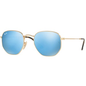Ray-Ban Rb3548n 001/9o Gold/Blue Sunglasses