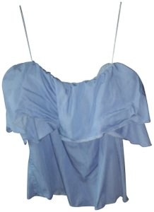 Sugarlips Chambray Top Blue
