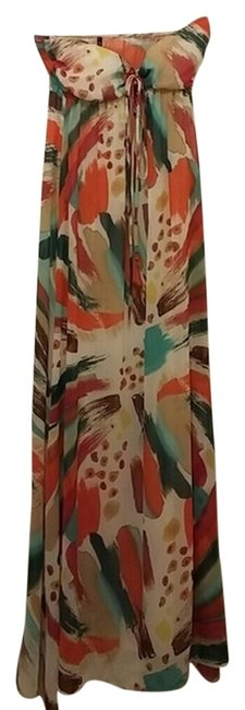 multi color Maxi Dress by Love Culture