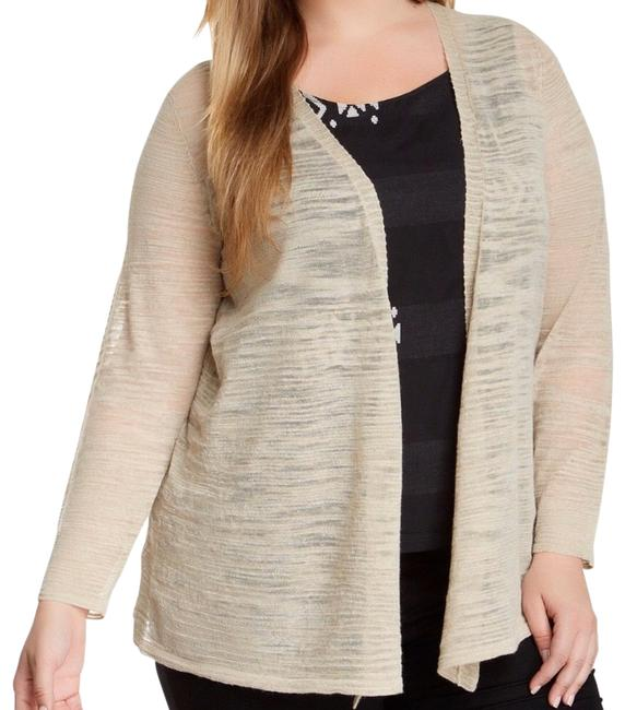 Preload https://img-static.tradesy.com/item/27326820/eileen-fisher-tan-linen-cardigan-size-0-xs-0-1-650-650.jpg