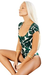 Stone Fox Swim Stone Fox Nava Mele Leaf One Piece