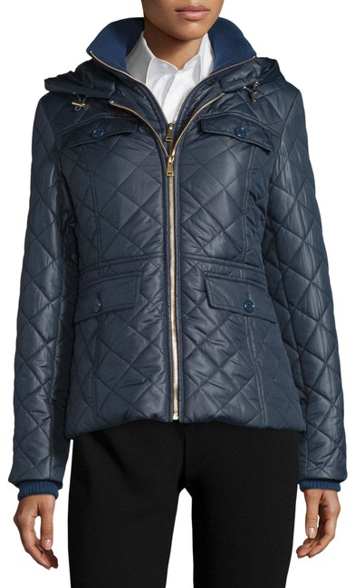 Item - Blue Packable Quilted Puffer Coat Size 6 (S)