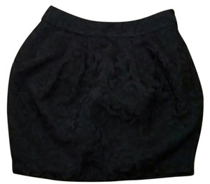 Forever 21 Size Small P1380 Mini Skirt black