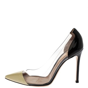 Gianvito Rossi Patent Leather Pointed Toe Multicolor Pumps