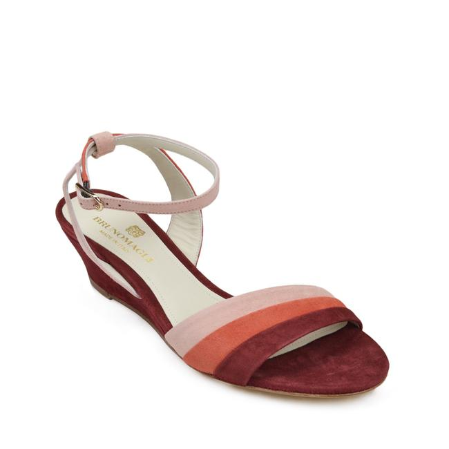 Item - Rust Ceci Ankle Strap Suede Sandals Size US 6 Regular (M, B)