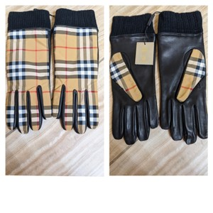 Burberry Burberry men's Cashmere-lined Lambskin Gloves
