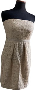 Cynthia Steffe short dress beige on Tradesy