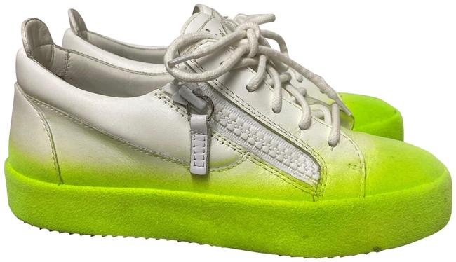 Item - White/ Lime Green And Flashy May London Sneakers Size EU 35.5 (Approx. US 5.5) Regular (M, B)