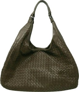 Bottega Veneta Woven Intreciatto Nappa Leather Hobo Bag