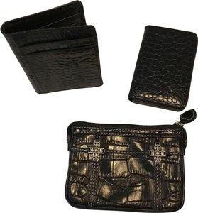 Brighton Brighton coin purse and black leather ID Wallet and business card hldr