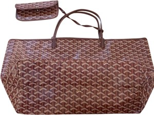 Goyard Tote in Burgundy